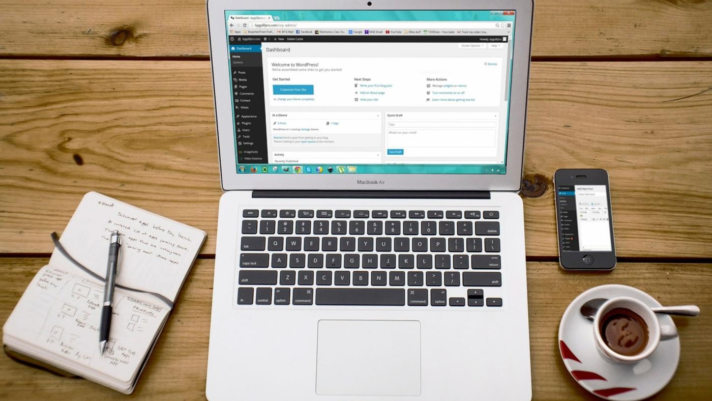 Из чего состоит админка сайта на Wordpress